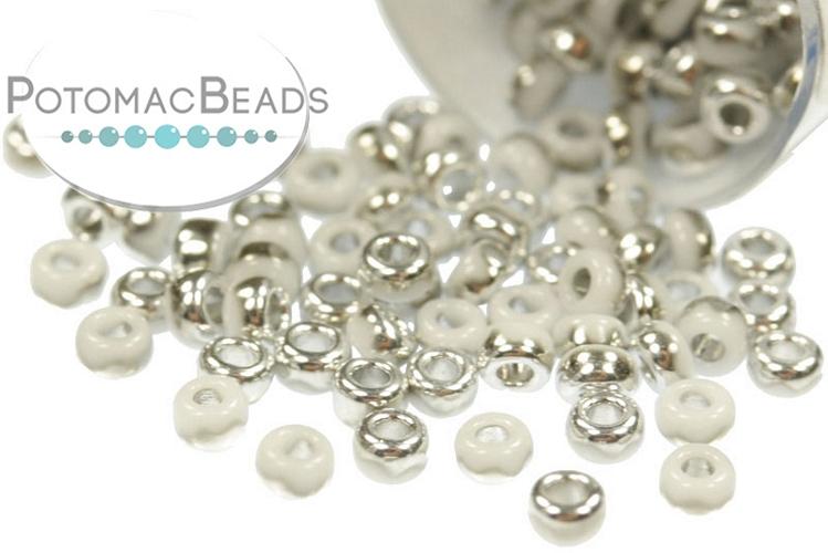 Miyuki Seed Beads - White Labrador 11/0