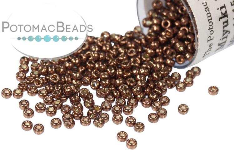 Miyuki Seed Beads - Duracoat Galvanized Dark Mauve 15-4213