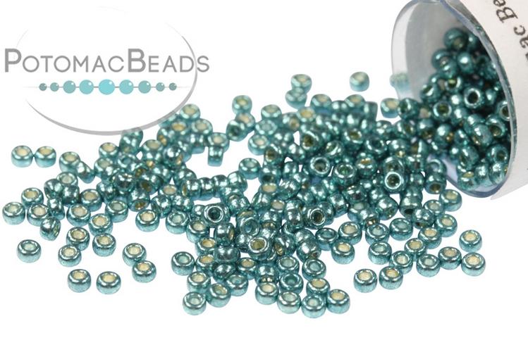 Miyuki Seed Beads - Duracoat Galvanized Seafoam 15-4217