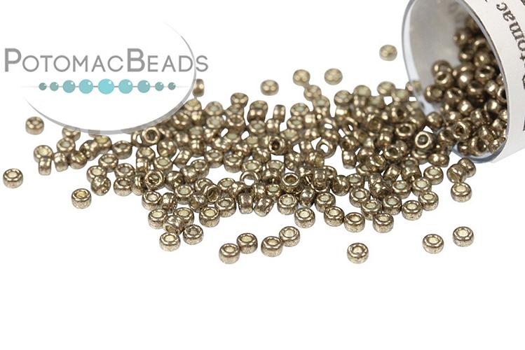 Miyuki Seed Beads - Duracoat Galvanized Pewter 15-4222