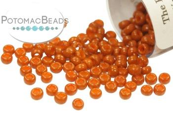 [81292] Miyuki Seed Beads - Duracoat Opaque Persimmon 11-4458