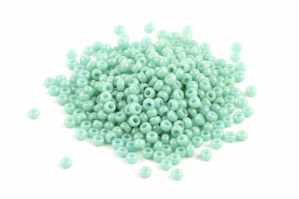 Miyuki Seed Beads - Duracoat Opaque Sea Opal 11-4475