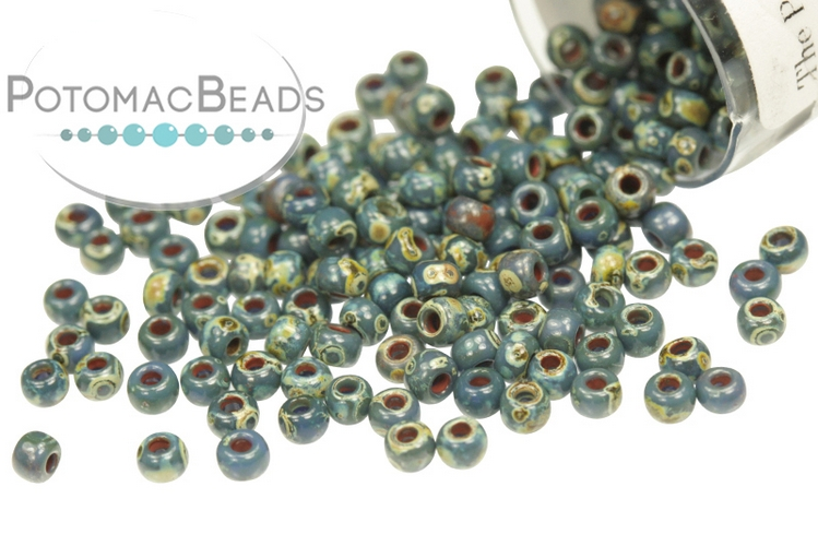 Miyuki Seed Beads - Picasso Montana Matte 11-4516