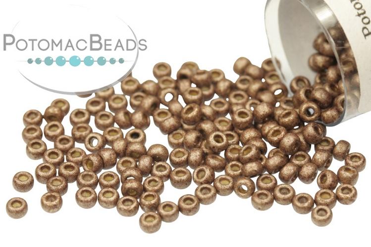 Miyuki Seed Beads - Duracoat Galvanized Matte Dark Mauve 11-4213F
