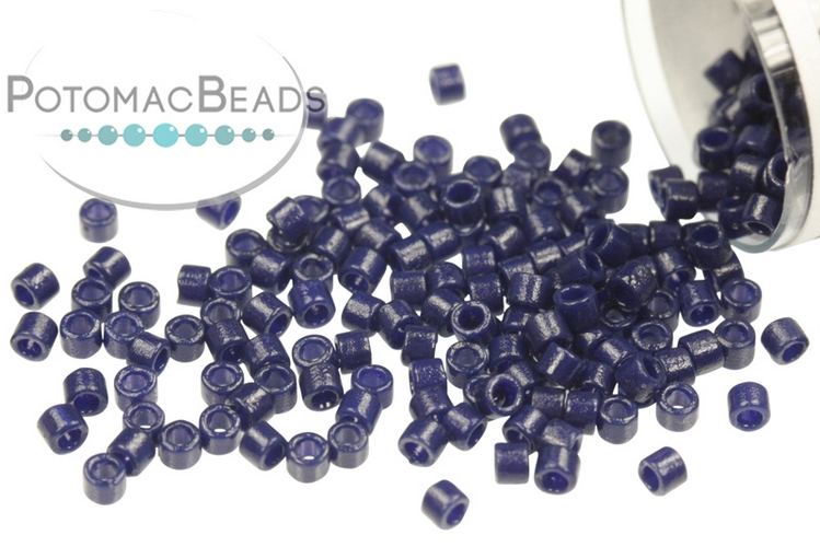 DB2143 Miyuki Delica Beads Duracoat Opaque Dyed Navy Blue 11/0
