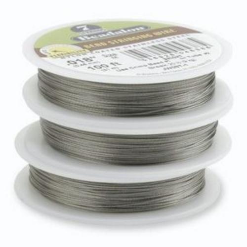 "Beadalon 7 Strand Wire Brt .015"" JW02T-0"