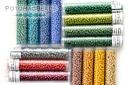 Miyuki Seed Bead Kit - Frosted Opaque Glaze Rainbow 8/0