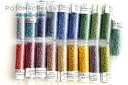 DB2301/DB2322 Miyuki Delica Seed Bead Kit Frosted Opaque Glaze Rainbow DB2/0301