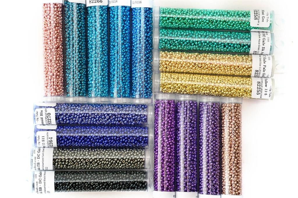 Miyuki Seed Bead Kit - Duracoat Galvanized 11/0