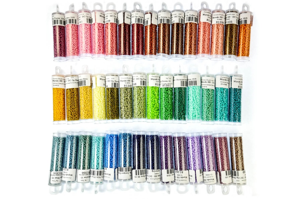 Miyuki Collection - All Duracoat Opaque Colors (42 Colors) 15/0