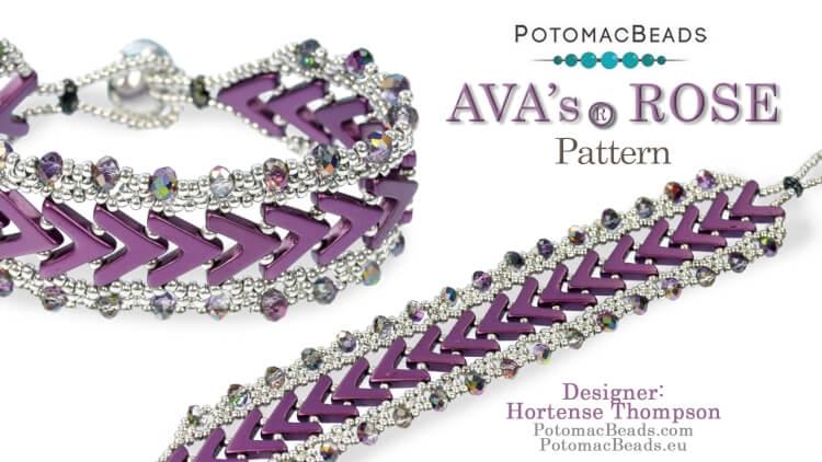 AVA's Rose Bracelet (Pattern)