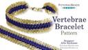 Vertebrae Bracelet Pattern by Allie Buchman