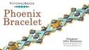 Phoenix Bracelet Pattern by Allie Buchman