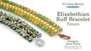 Elizabethian Ruff Bracelet Pattern