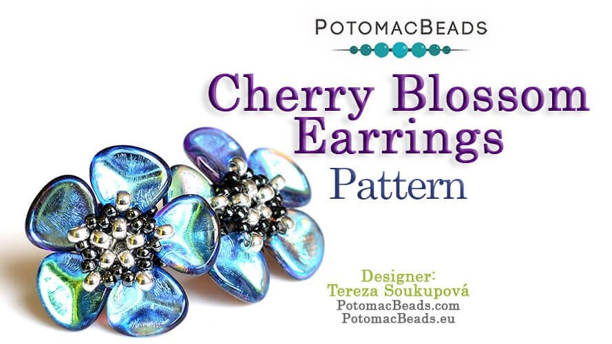 Cherry Blossom Earrings Pattern