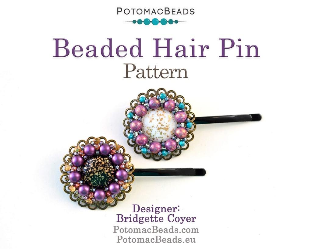 Beaded Hair Pin Pattern