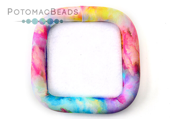 "Bead On It Board - Ablaze (6x6"" Square)"