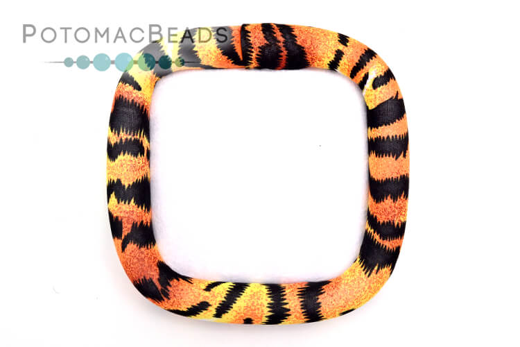 """Bead On It Board - Tiger Queen (6x6"""" Square)"""