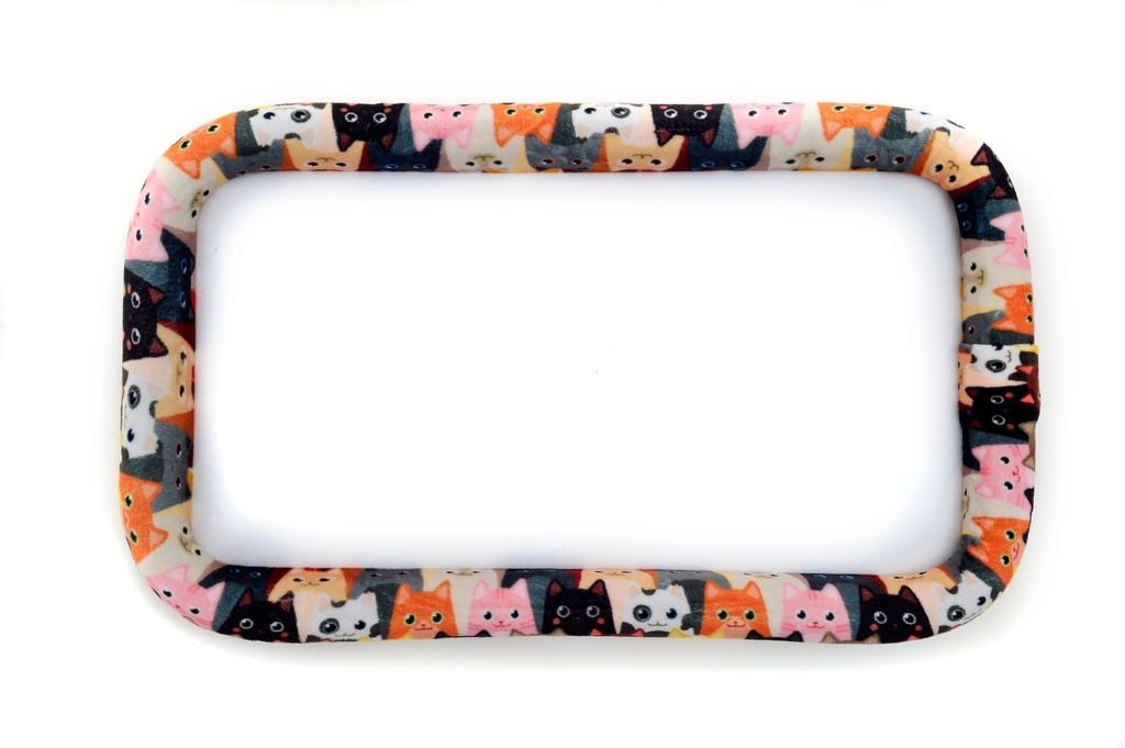 """Bead On It Board - Curious Kittens  (6x11"""" Rectangle)"""