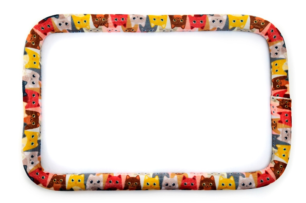 """Bead On It Board - Curious Kittens  (8x14"""" Rectangle)"""