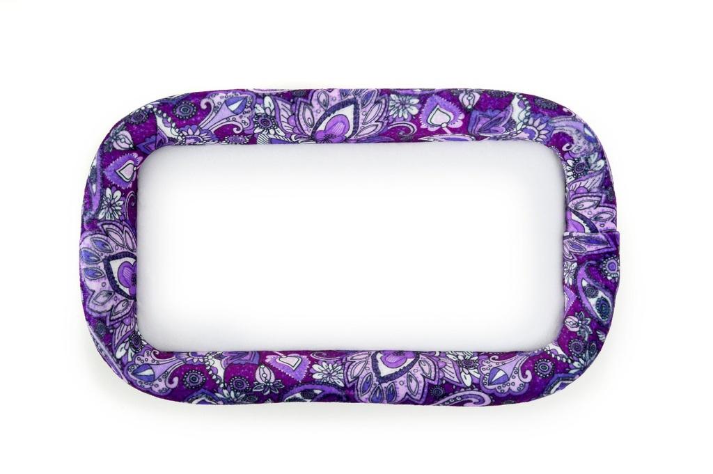"Bead On It Board - Purple Paisley  (6x11"" Rectangle)"