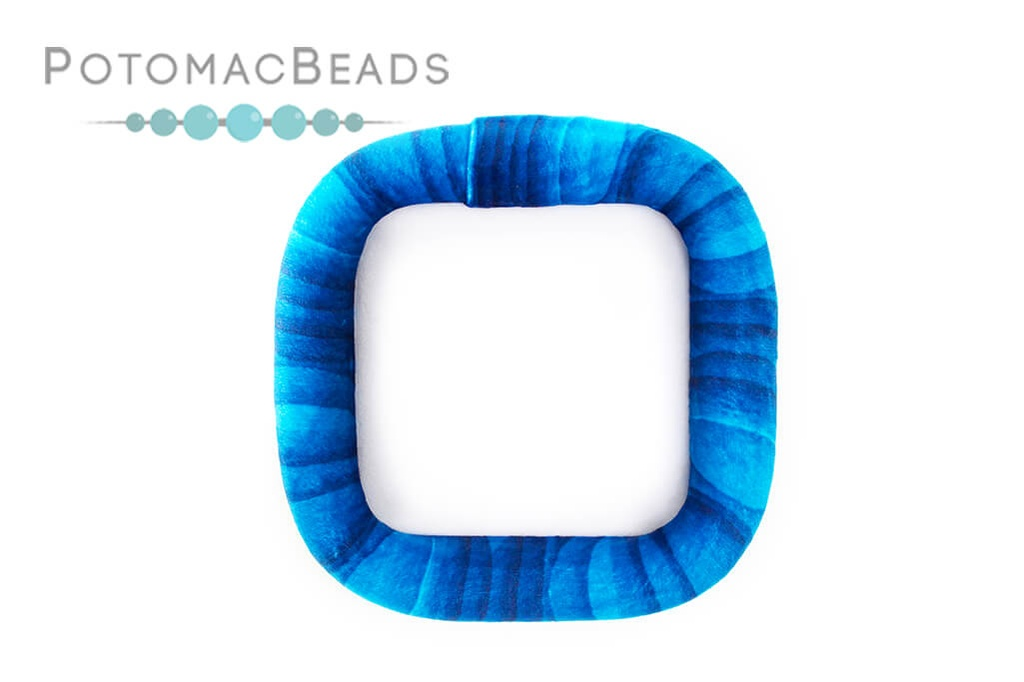 Bead On It Board - Sea Swirl (6x6 Square)