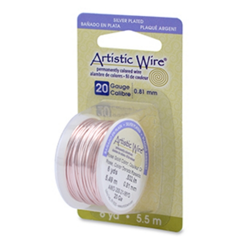 Artistic Wire 22g Rose Gold