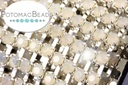 Cup Chain - Opal Silver SS12 (per inch)