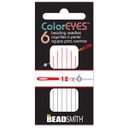 Coloreyes Needles Size 12 Red