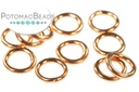 Closed Jump Rings 5mm Copper