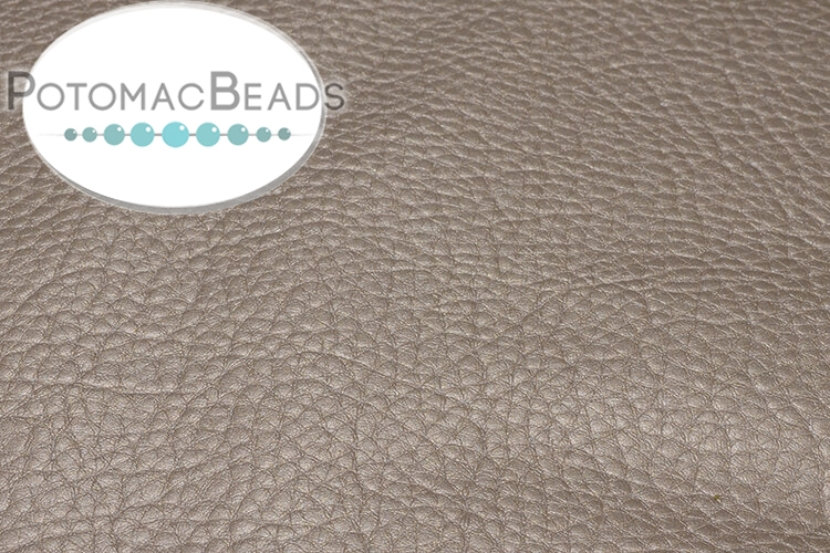 "Art Leather - Grey Gold 6.5""x9.5"""