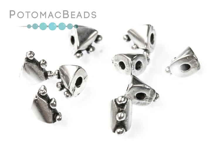 Cymbal Arcos Kambia Side Bead Antique Silver