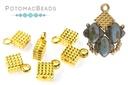 Cymbal Silky Fero Bead Ending Gold