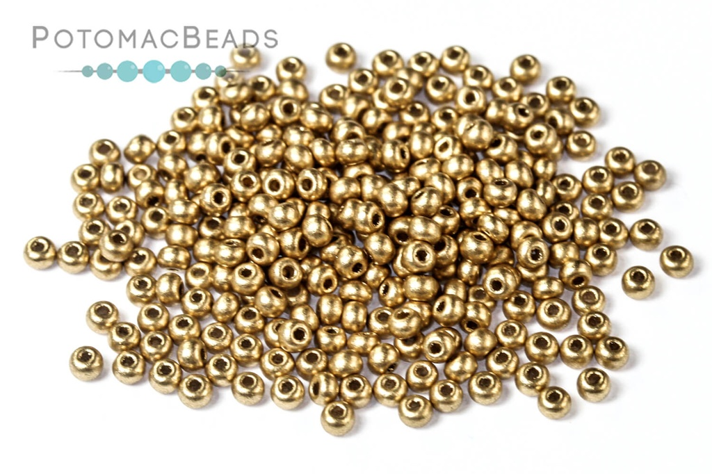 Czech Seed Beads - Aztec Gold 11/0 (Factory Pack)