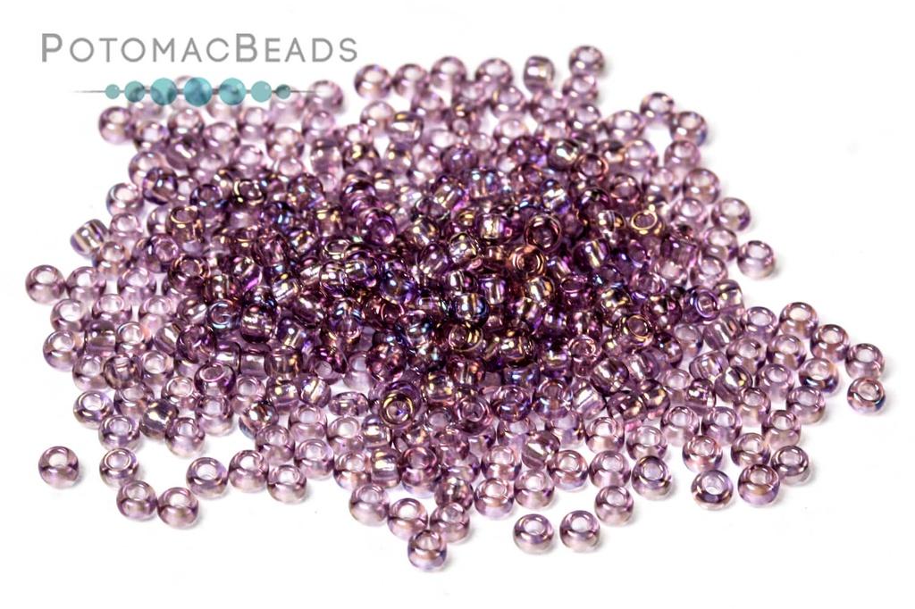 Czech Seed Beads - Light Amethyst AB 11/0 (Factory Pack)