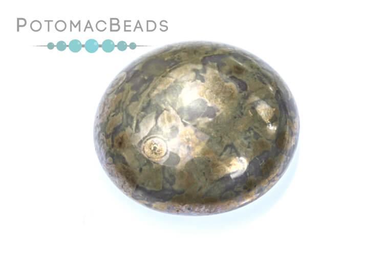 Cabochon Par Puca - Opaque Amethyst Picasso 18mm