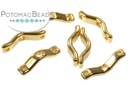 BowTrio Beads - Gold 50 pack