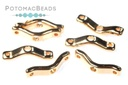 BowTrio Beads - Rose Gold 50 pack