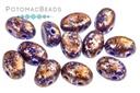 Amos Par Puca Beads - Opaque Sapphire Tweedy