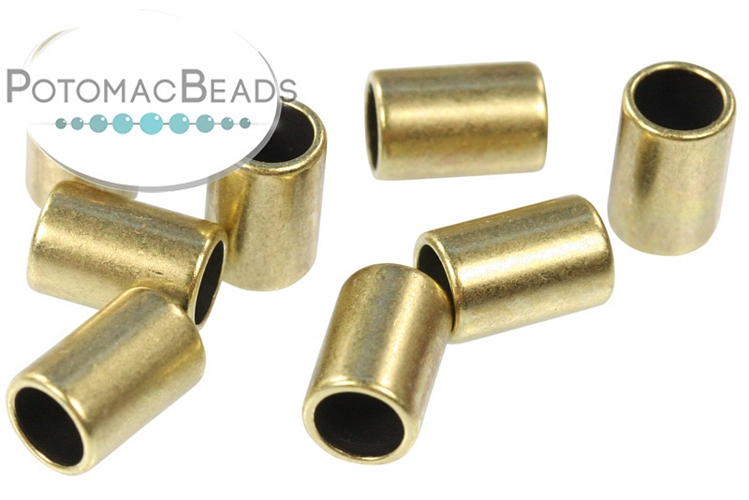 Washer Large Hole Bead 3.5mm Hole Antique Brass