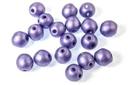 RounDuo Mini Beads - Metallic Violet 4mm