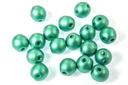 RounDuo Mini Beads - Metallic Emerald 4mm