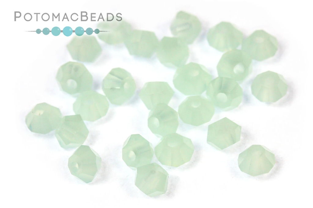 Potomac Crystal Bicones - Pacific Opal 3mm