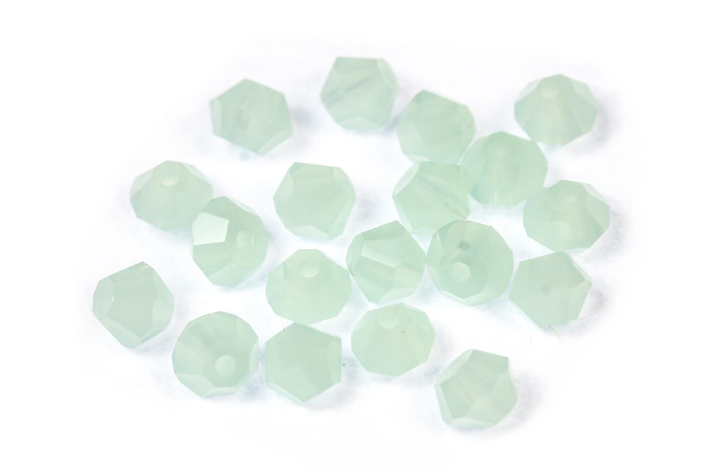 Potomac Crystal Bicones - Pacific Opal 4mm