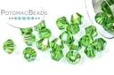Potomac Crystal Bicones - Fern Green AB 4mm