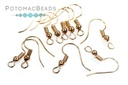 Coiled Earwires - Rose Gold (Pack of 100)