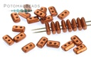 Piros par Puca Beads - Copper (Bronze Red Matte)