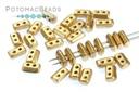 Piros Par Puca Beads - Aztec Gold (Light Gold Matte)