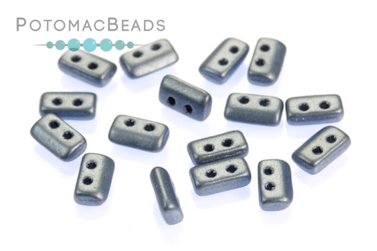 Piros par Puca Beads - Metallic Matte Blue