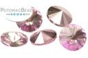 Potomac Crystal Rivoli - Lilac Metallic Ice 10mm (pack of 25)